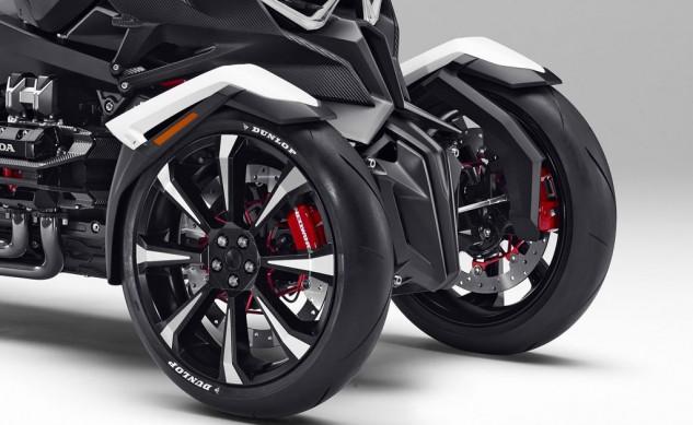 honda neowing motor roda tiga