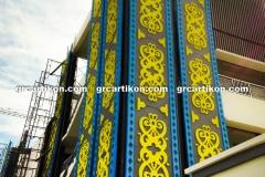 Panel GRC Cladding Pasar Bontang grcartikon.co.id1