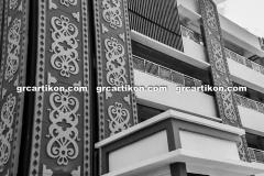 Panel GRC Cladding Pasar Bontang grcartikon.co.id5