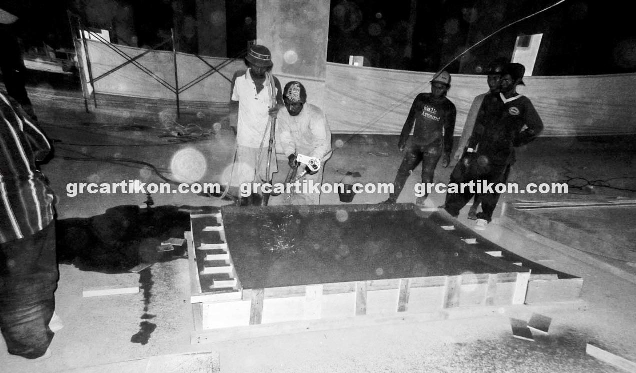 atap GRC entrance Masjid Islamic Center Mataram-21