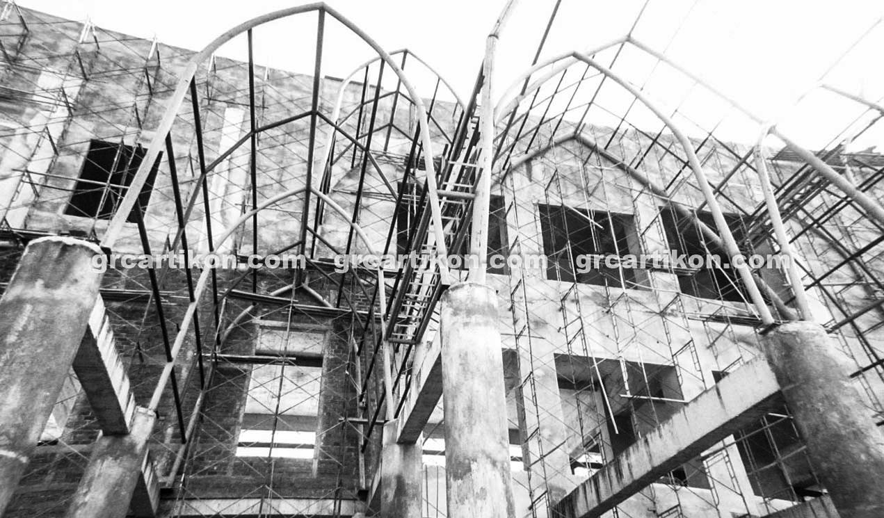 atap GRC entrance Masjid Islamic Center Mataram-23