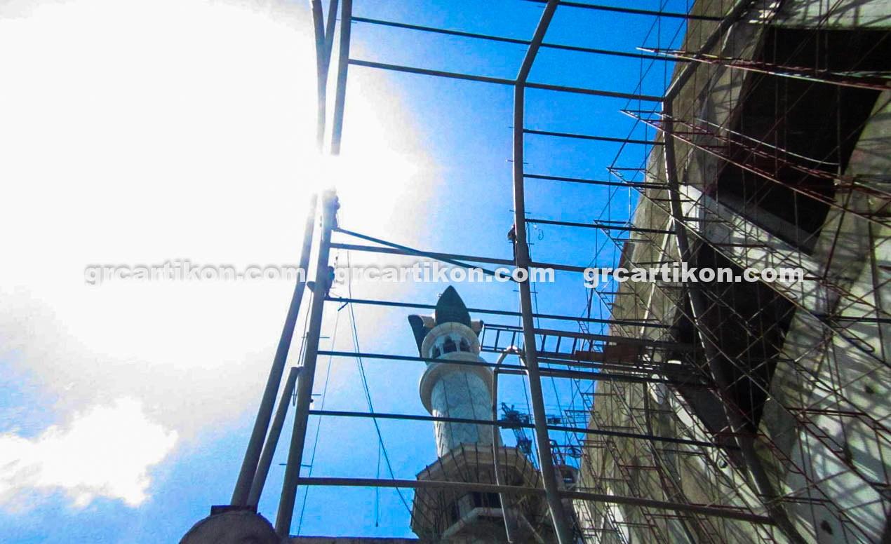 atap GRC entrance Masjid Islamic Center Mataram-25