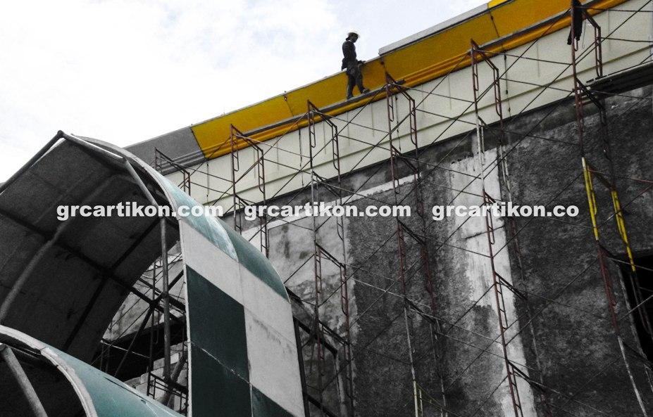 atap GRC entrance Masjid Islamic Center Mataram-48