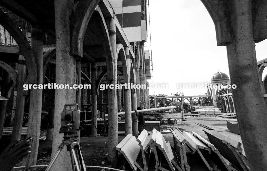 atap GRC entrance Masjid Islamic Center Mataram-55