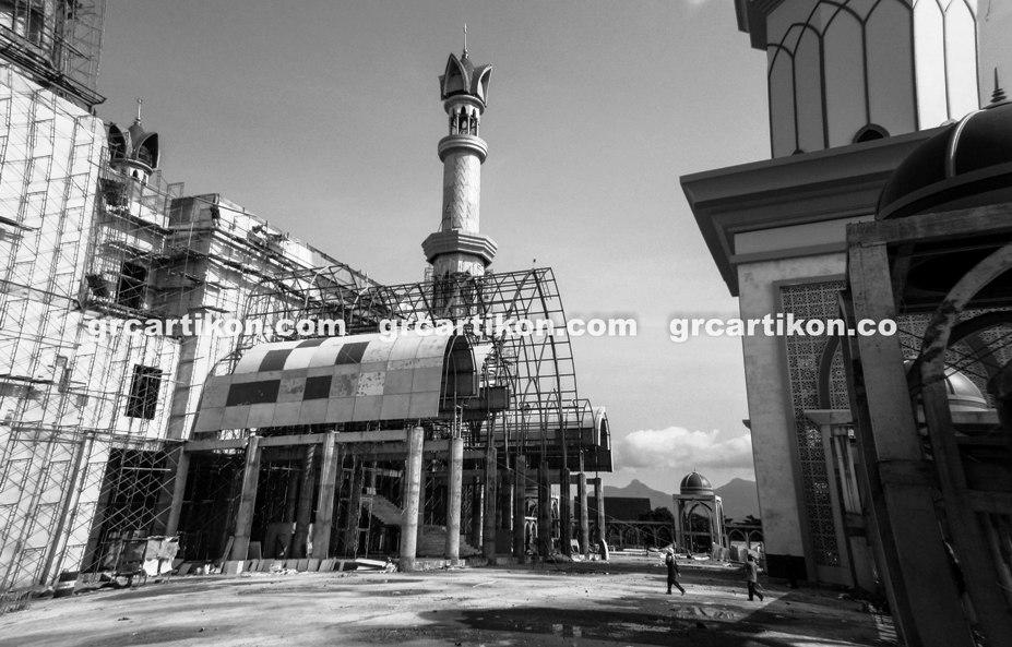 atap GRC entrance Masjid Islamic Center Mataram-60