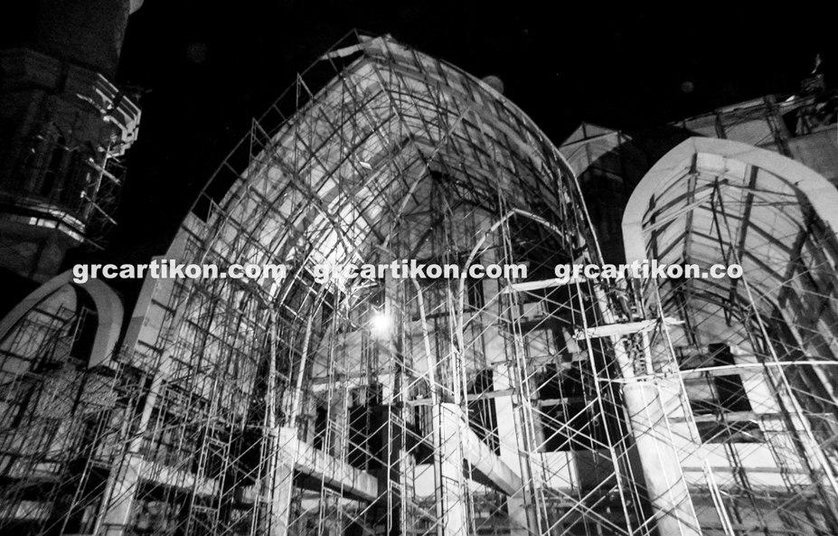 atap GRC entrance Masjid Islamic Center Mataram-64