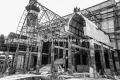 atap GRC entrance Masjid Islamic Center Mataram-58