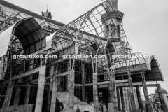 atap GRC entrance Masjid Islamic Center Mataram-70