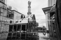 atap GRC entrance Masjid Islamic Center Mataram-76