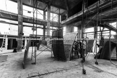 proses pemasangan GRC kubah masjid 6478