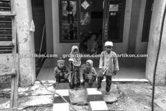 proses pemasangan GRC kubah masjid 6481