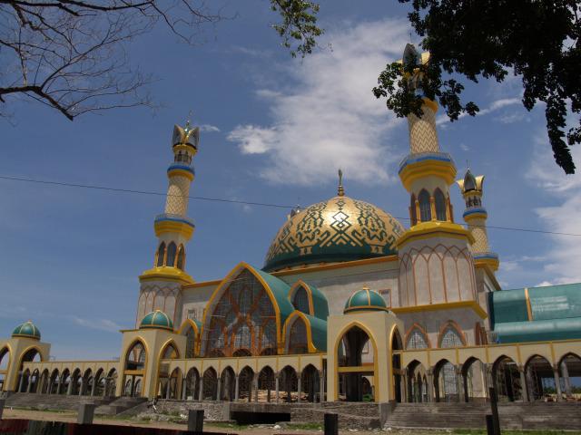 grc atap islamic center Mataram