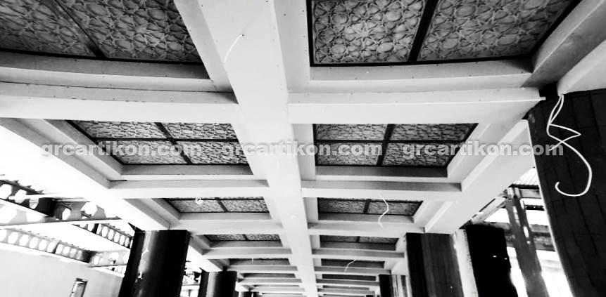 GRC Masjid Fakfak_plafon GRC 2