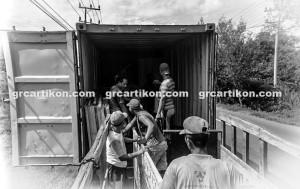 GRC Masjid Fakfak_pengiriman container 4