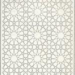 ornamen zillij geometris islami