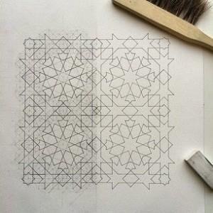 bentuk dasar ornamen geometris islami