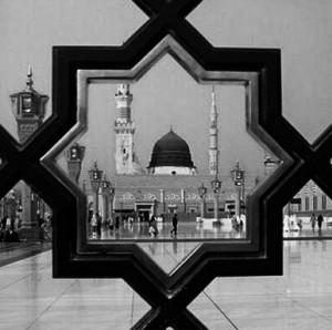 kubah masjid nabawi di madinah al munawaroh