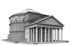 Kubah Pantheon di Roma