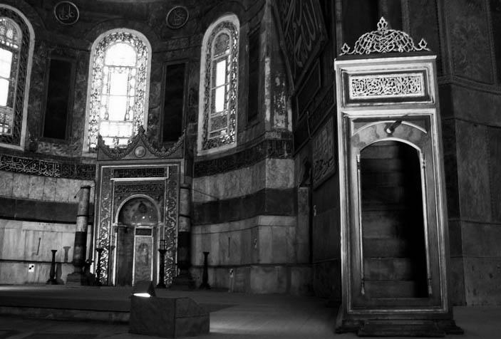 desain mihrab Masjid haga shopia1