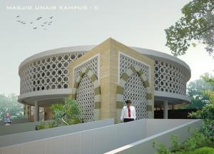 desain masjid UNAIR by krisna adi utama2