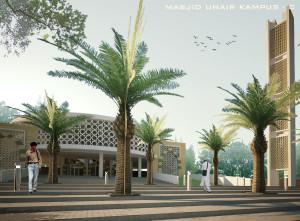 desain masjid UNAIR by krisna adi utama4