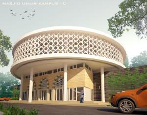 desain masjid UNAIR by krisna adi utama6