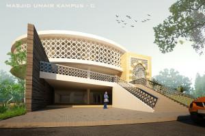 desain masjid UNAIR by krisna adi utama8