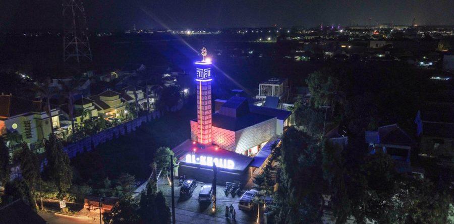 GRC Ornamen Masjid Al Khalid by GRC Artikon